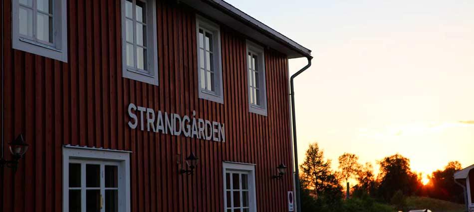 Strandgården, Fjällnäs – vinter i paradiset